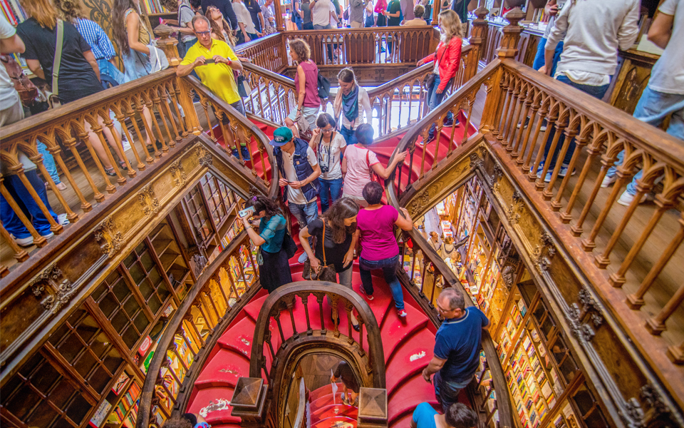 The Lello Bookstore in Portugal Attracts 100,000 Visitors a Month