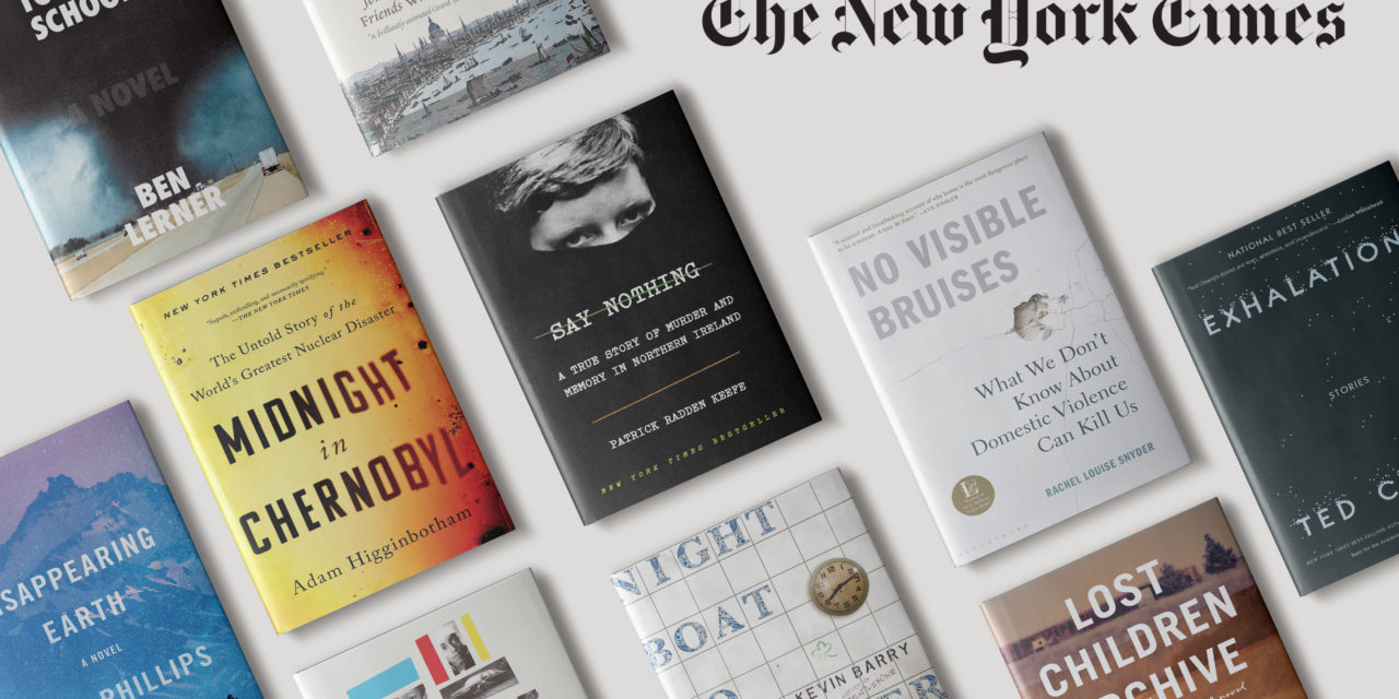 """""""New York Times"""" 10 Best Books of 2019"""